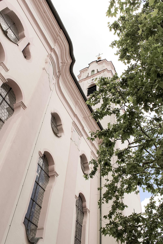 Frauenkirche in Günzburg von außen