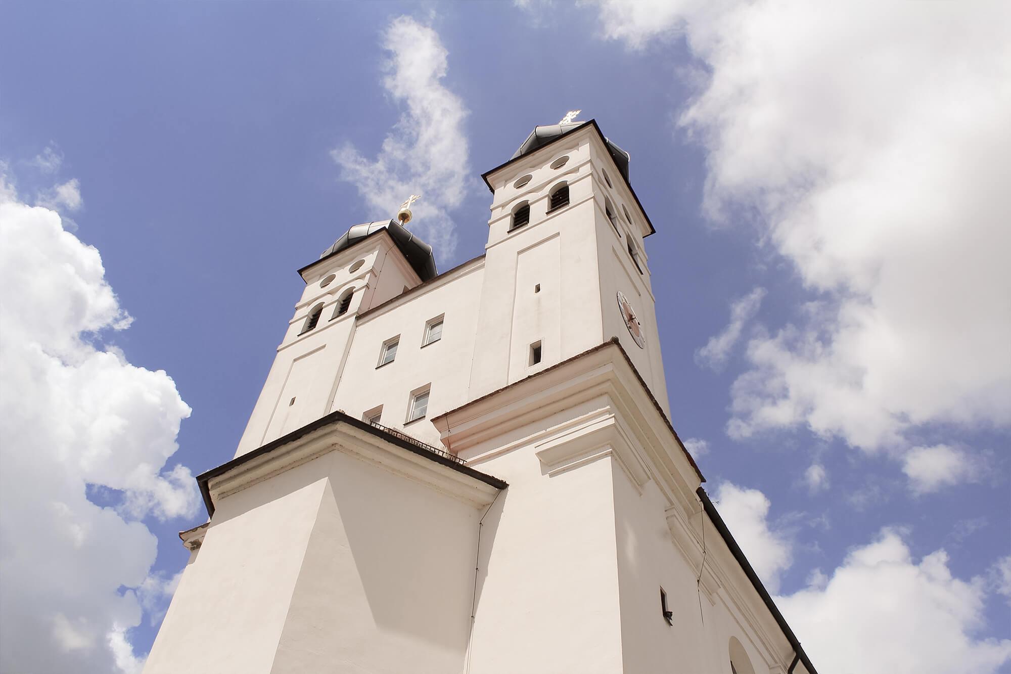 Hofkirche am Residenzschloss in Günzburg