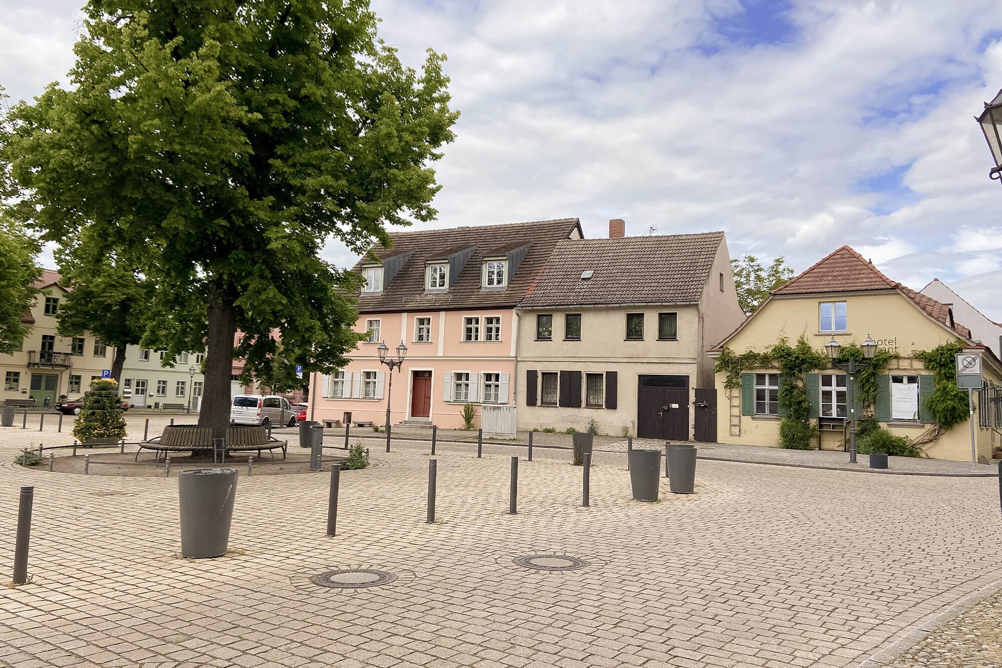 Marktplatz in Werder an der Havel