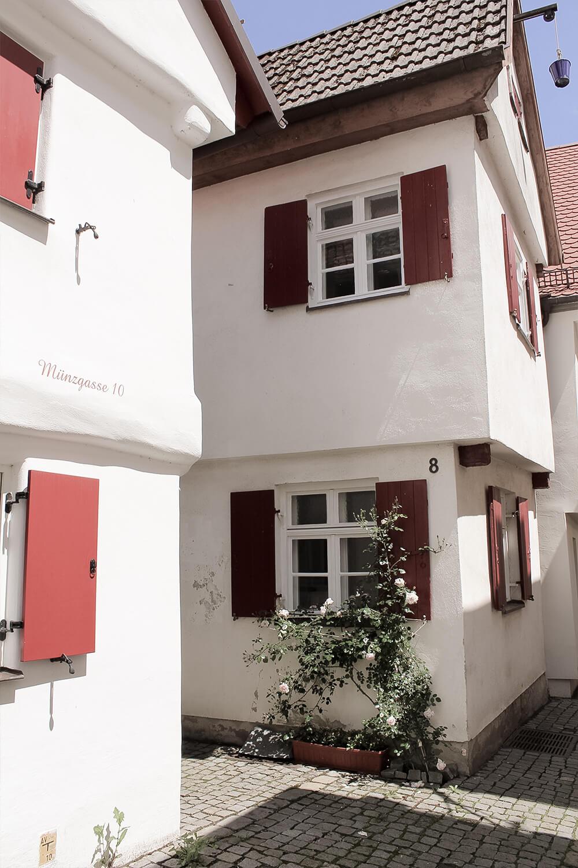 Münzgasse in Günzburg
