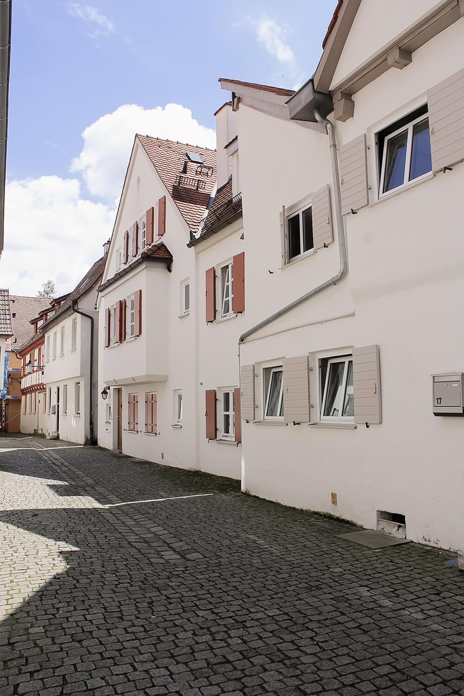 Altbauten Münzgasse Günzburg