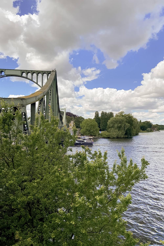 Glienicker Brücke am Berliner Mauerweg