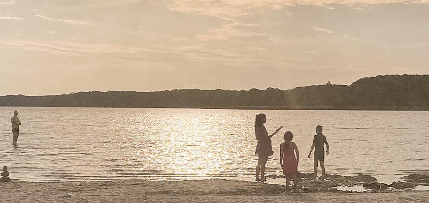 Blick auf See