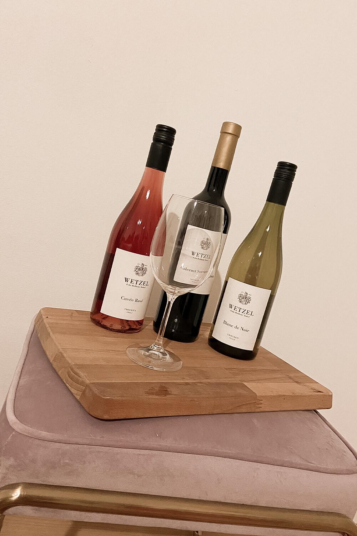 Weinauswahl vom Weinkontor Wetzel