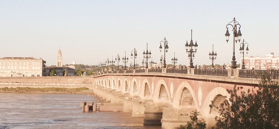 Brücke in Bordeaux