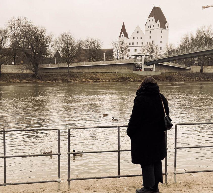 Donauufer in Ingolstadt