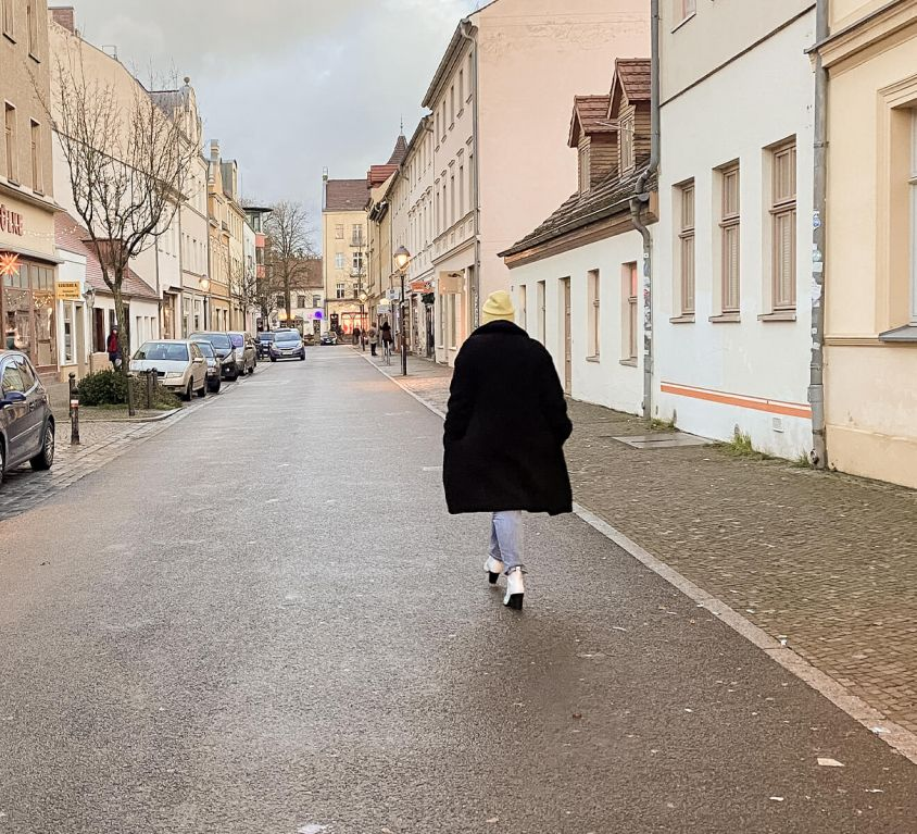 Straße in Babelsberg