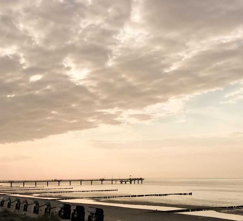Blick auf OstseeStrand