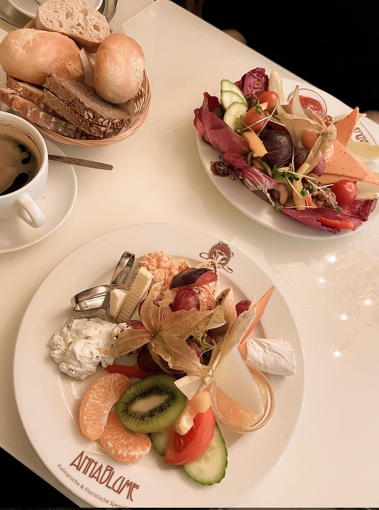 Frühstück im Anna Blume in Prenzlauer Berg