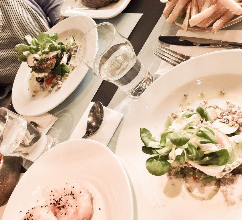 Griechisches Essen in Thessalonki
