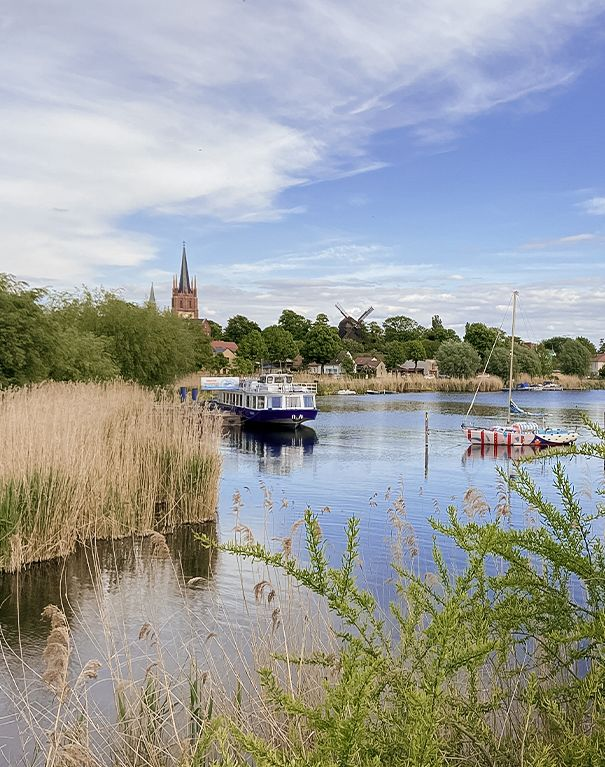 Blick auf die Havel in Werder