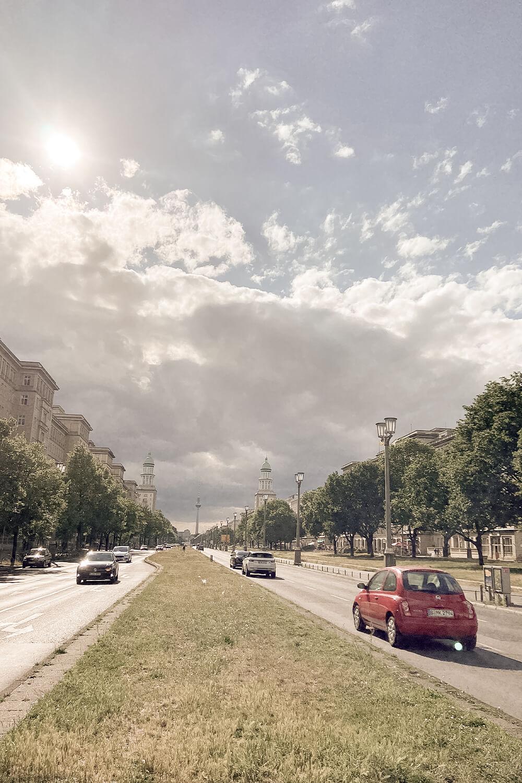 Blick aufs Frankfurter Tor
