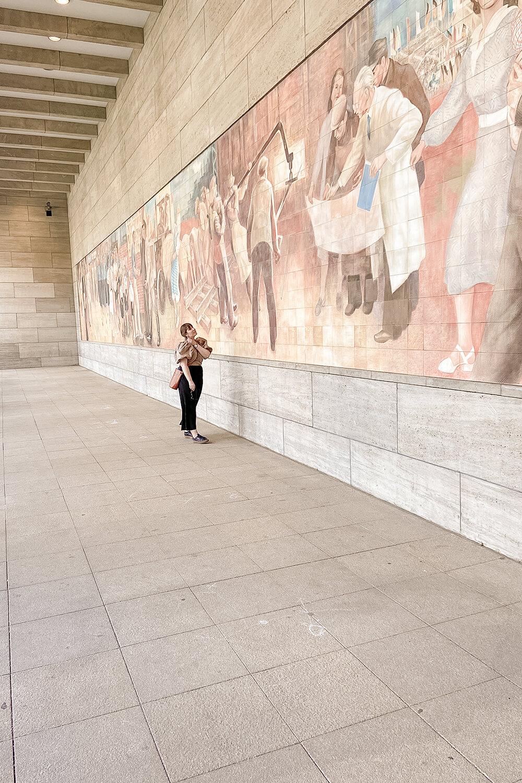Mosaik am Platz des Volksaufstands