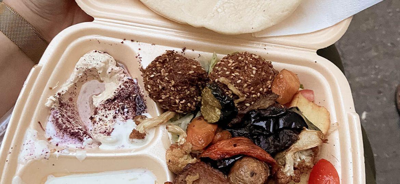 Falafel und Co als Essen zum Mitnehmen in Berlin-Wedding