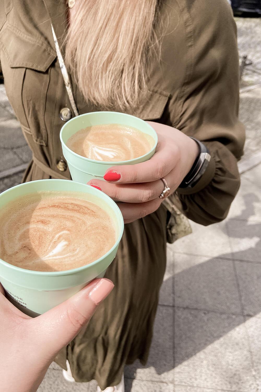 Kaffee in Recups von Café Lukas in Potsdam