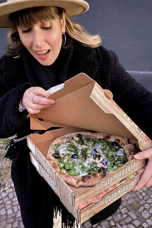 vegane Pizza von Sotto