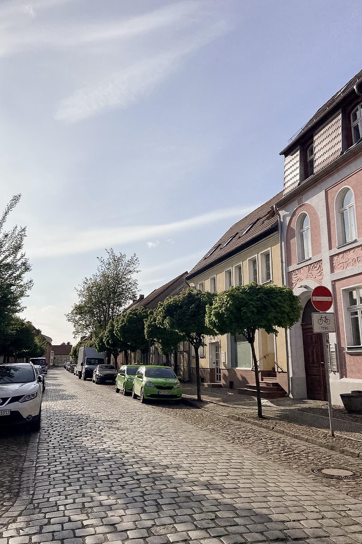 Straße in Beelitz