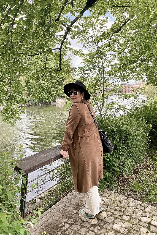 Am Ausblickspunkt auf die Havel in Brandenburg an der Havel