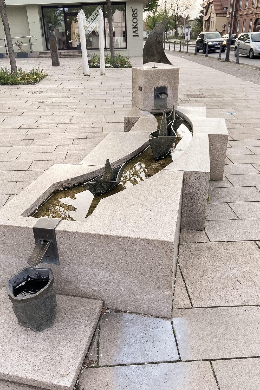 Brunnen in Beelitz
