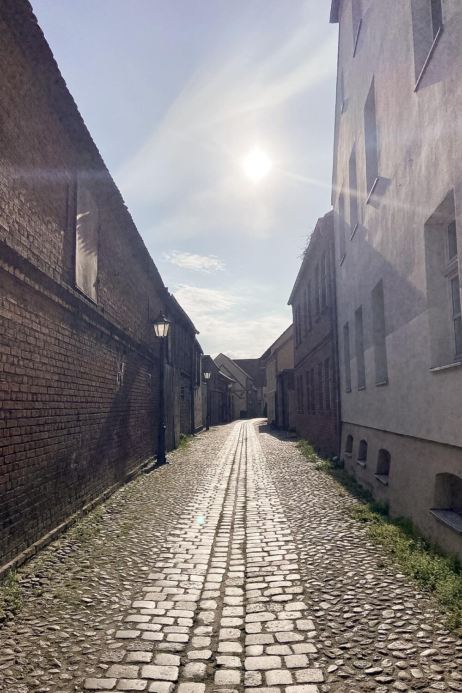 Gasse in Beelitz