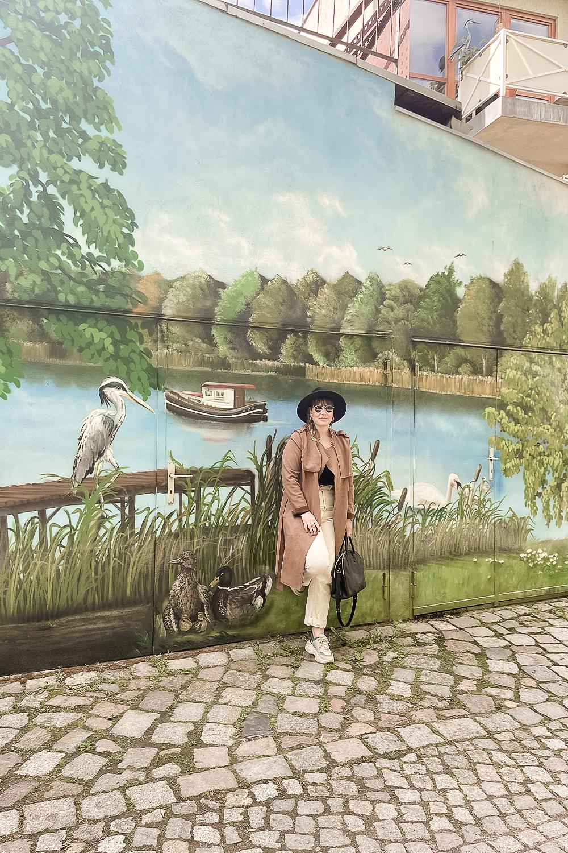 Grafittiwand in Brandenburg an der Havel
