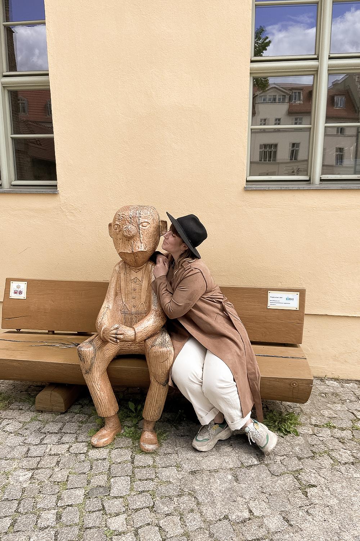Knollennasenmännchen in Brandenburg an der Havel