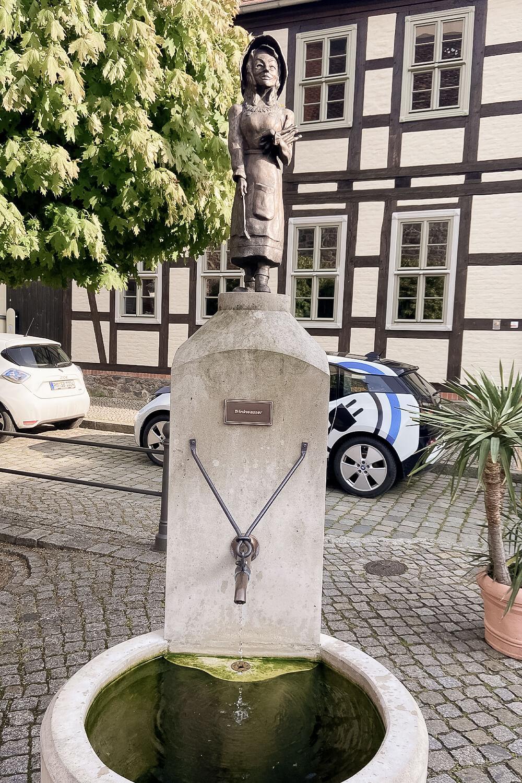 Spargelbrunnen in Beelitz