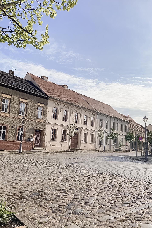 Strasse in der Altstadt Beelitz