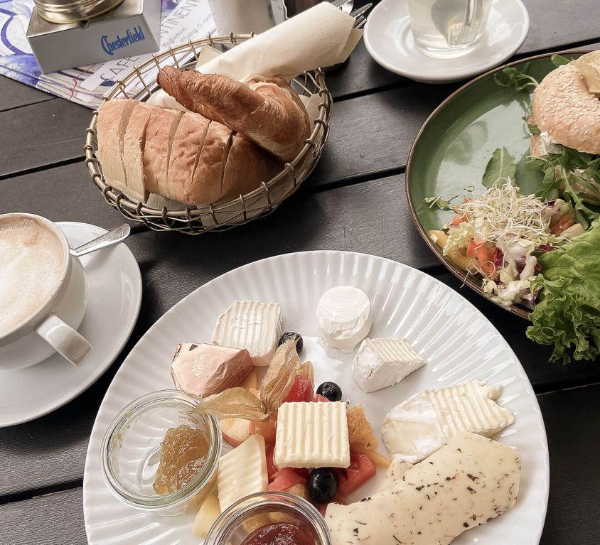 Frühstücken in Dresden-Neustadt
