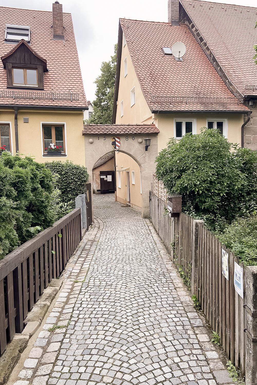 Altstadtgasse in Lauf an der Pegnitz