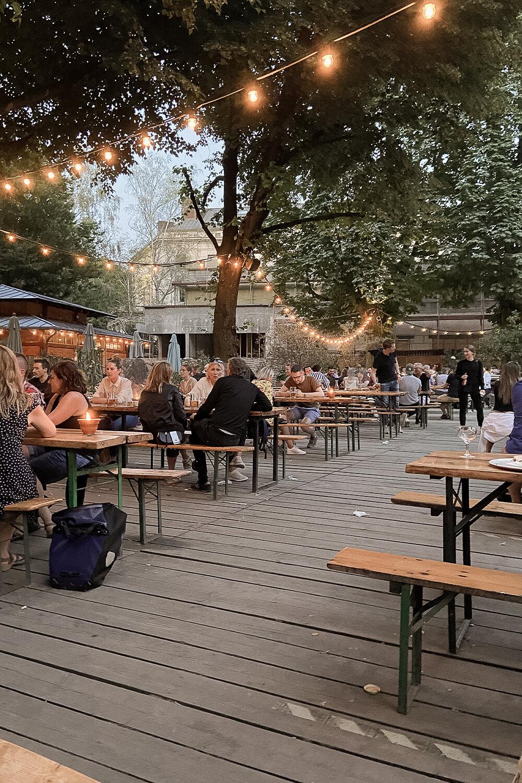 Biergarten Café am Neuen See
