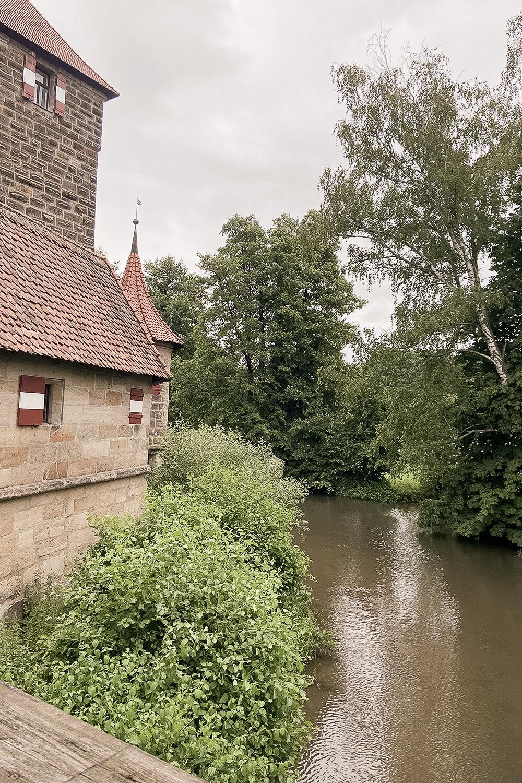 Burgraben der Wenzelsburg
