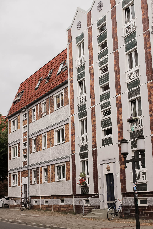 DDR-Architektur in Greifswald