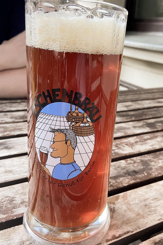 Hauseigenes Bier von Eschenbräu