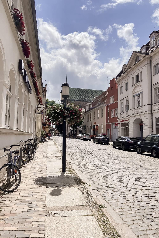 Altstadtgasse in Greifswald
