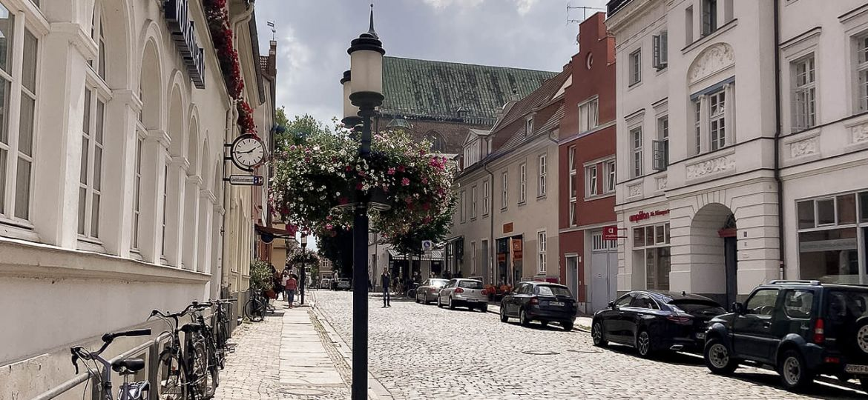 Gasse in Greifswald