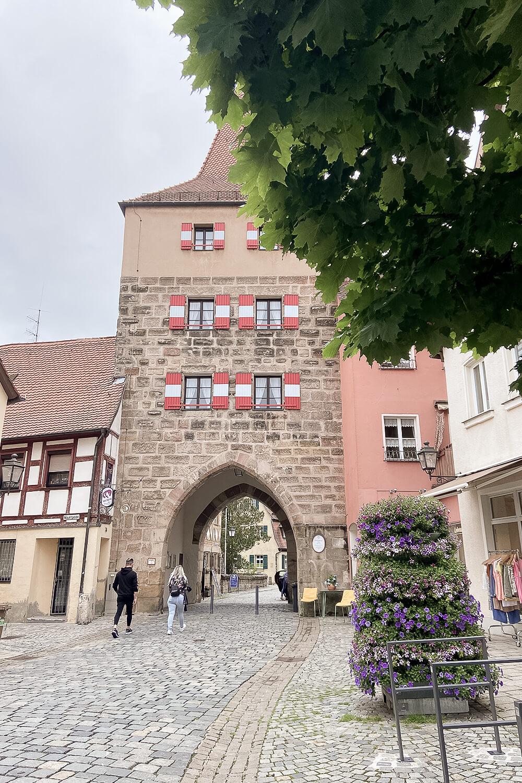 Nürnberger Tor in Lauf an der Pegnitz