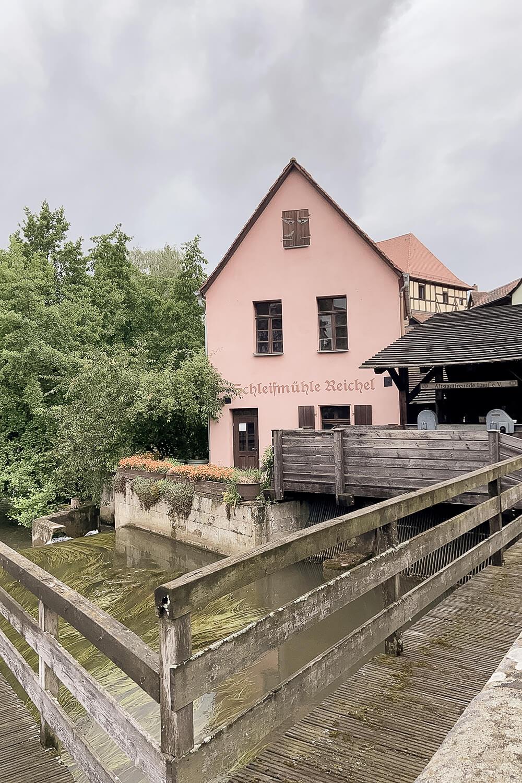 Reichel'sche Schleifmühle in Lauf an der Pegnitz