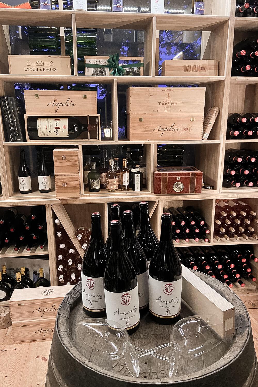 Weinschrank des Lindwerder