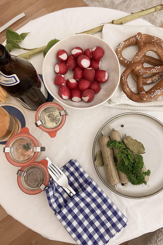 Weißwurstfrühstück von Weisswurstkiste
