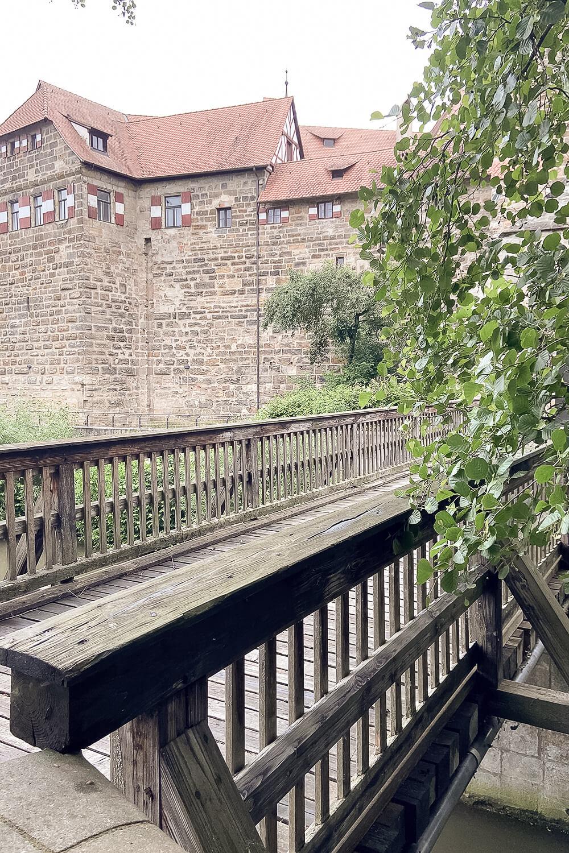 Zugbrücke der Wenzelsburg in Lauf an der Pegnitz