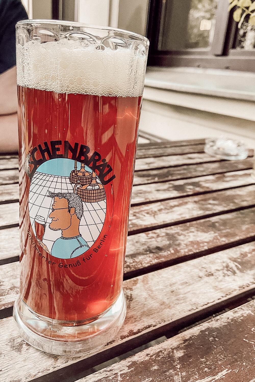 Dunkles Bier von Eschenbräu