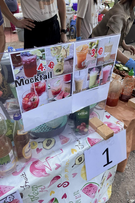 Getränkestand im Thai Park Berlin