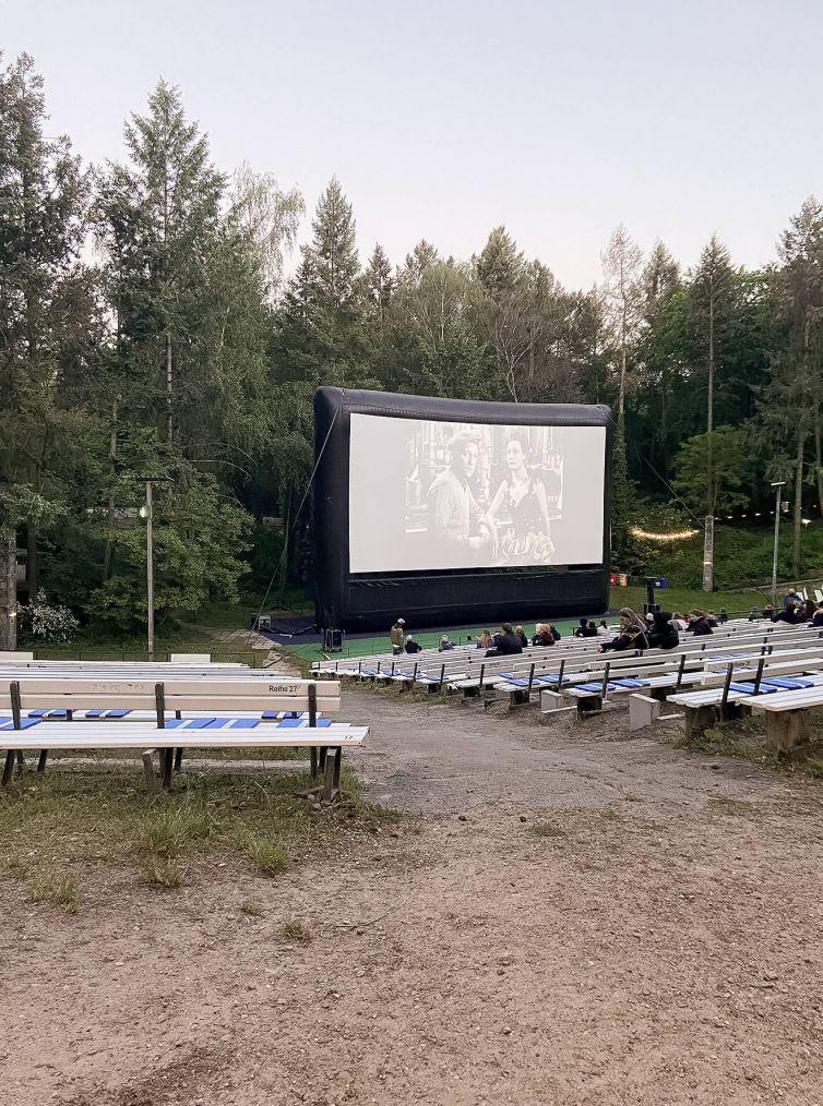 Open-Air-Kino Rehberge