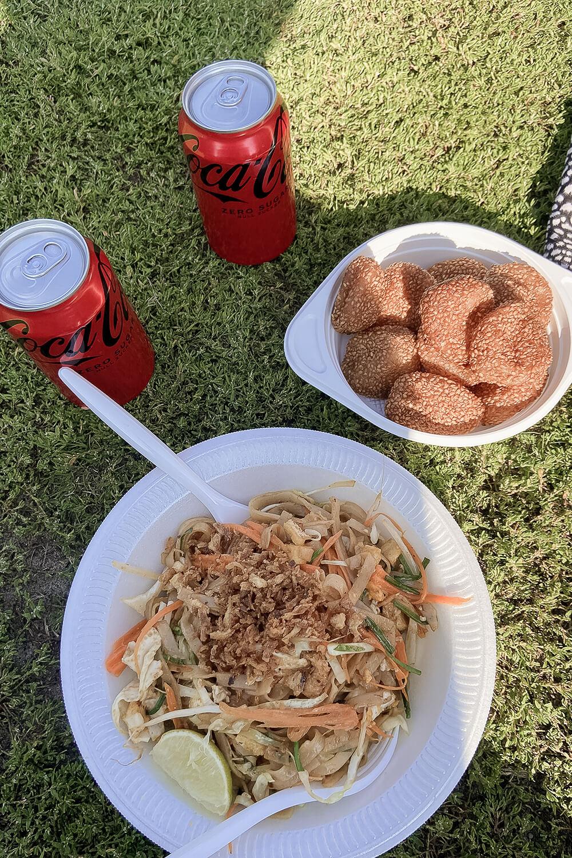 Essen im Thai Park Berlin
