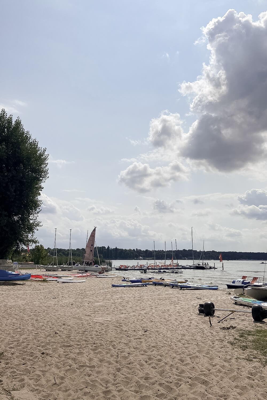 Strand des Wassersportcenter Berlins am Wannsee