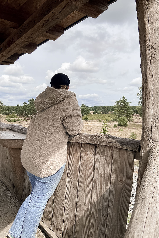 Ausblick vom Aussichtshügel in der Schönower Heide