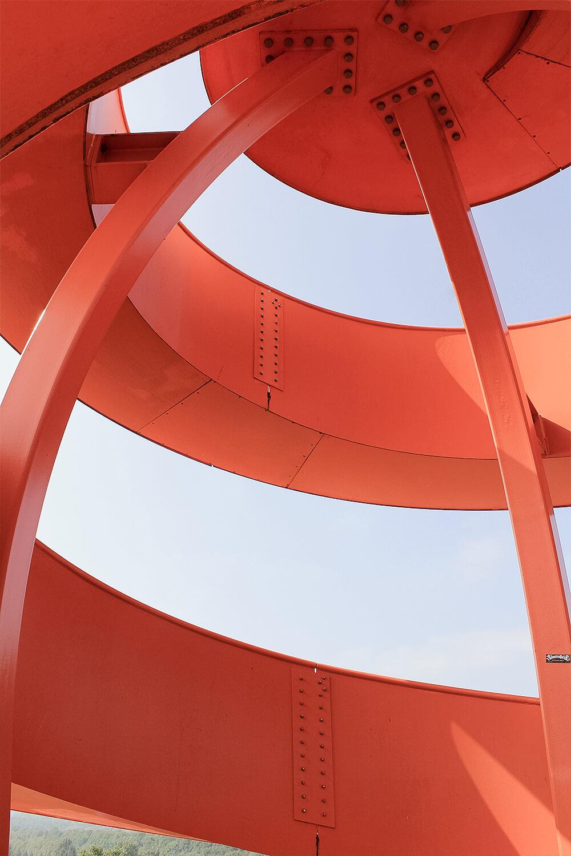 Details des Haldenturm in Hamm