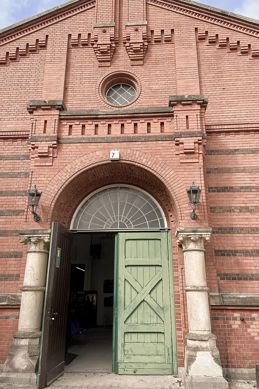 Eingang Marschstall BGR Sammlung
