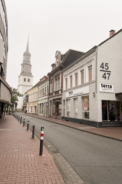 Straße in Hamm